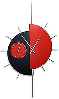 Reloj de Pared grande, ESPECTACULAR, Diseño Moderno. Agujas de madera talladas a mano. Ideal para sitios especiales, salon...