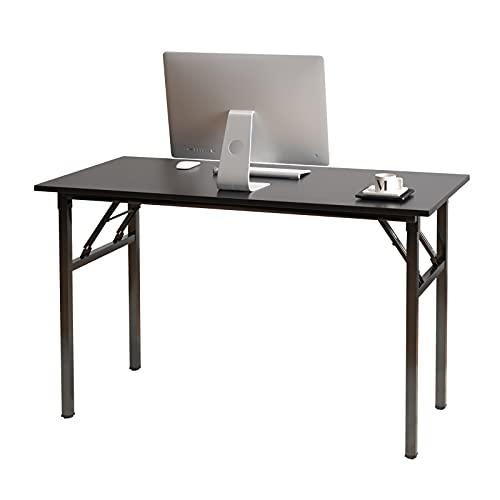 sogesfurniture Mesa Escritorio Plegable,120x60 cm Mesa de Ordenador Escritorio de Computadora Mesa...