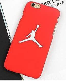 Funda Carcasa de Silicona Iphone 7 o Iphone 8 J Basketball Rojo ...