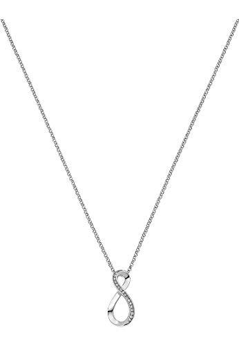 JETTE Silver Damen-Kette 925er Silber 20 Zirkonia One Size 87525261
