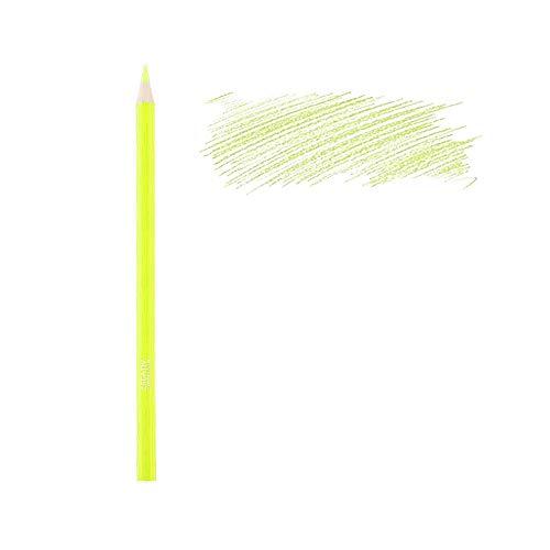 CREATIV DISCOUNT Kinder-Malstift Neongelb, Buntstift, 1 STK