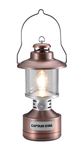 キャプテンスタッグ(CAPTAIN STAG) ランタン ライト 照明 ツインライト LED ランタン 【 明るさ15-110ルーメン / 点灯時間8-300時間 】 ステンドグラス風シート付き アンティーク UK-4057