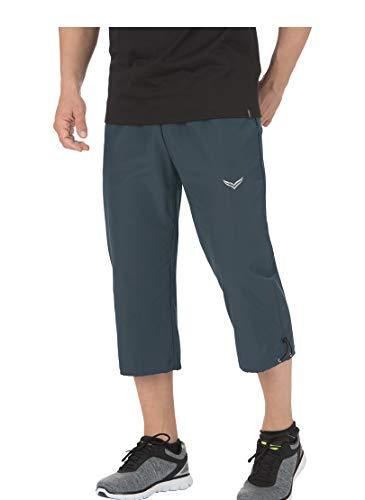 Trigema Herren 3/4 Freizeithose Shorts Sportifs, Gris (Anthrazit 018), 64 (Taille Fabricant: XXXL) Homme