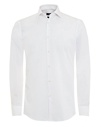 BOSS Hugo Boss Slim Fit chemise de Monique Blanc 42
