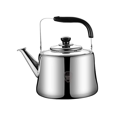 YIXINHUI hervidor Hervidor de Acero Inoxidable silbido de té Tetera Coffee Coffee Fatobetop Inducción para para el hogar Camping Picnic