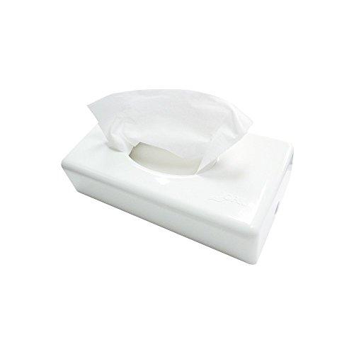 Jofel AZUR Kosmetiktuchspender Kunststoff weiß