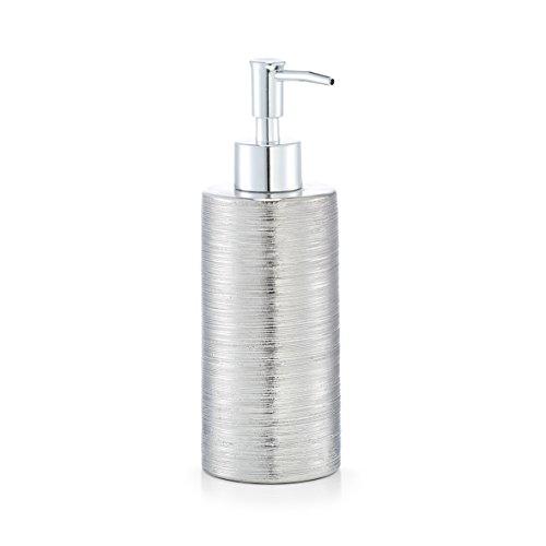 Zeller Seifenspender, Silber, Durchmesser 6,7 x 19,5 cm