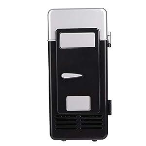 Yosoo Health Gear Réfrigérateur Compact léger, Petit réfrigérateur, Voiture pour Bureau(Black)