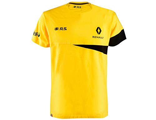 Renault Sport – T Shirt Formel 1 – Saison 2020 – Herren Gr. L, gelb