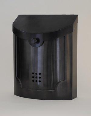 Ecco E4 Mailbox - E4BP Black Pewter - Large Wall Mounted Mailbox