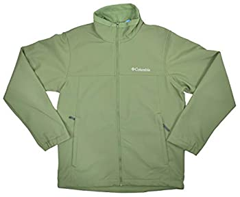 Columbia Men s Mt Village Softshell Jacket Green  M