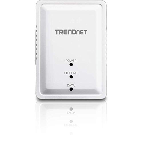 TRENDnet 500Mbps Kompakt Powerline AV Adapter Kit , TPL-406E2K