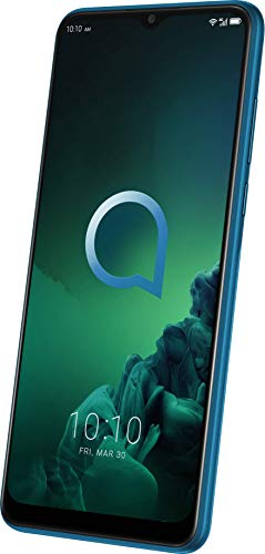 Alcatel 3X 5048Y Smartphone (16,56 cm (6,52 Zoll) HD+ Display mit Mini-Notch, Dual-SIM, 64 GB Speicher, 4 GB RAM, Android 9.0) grün