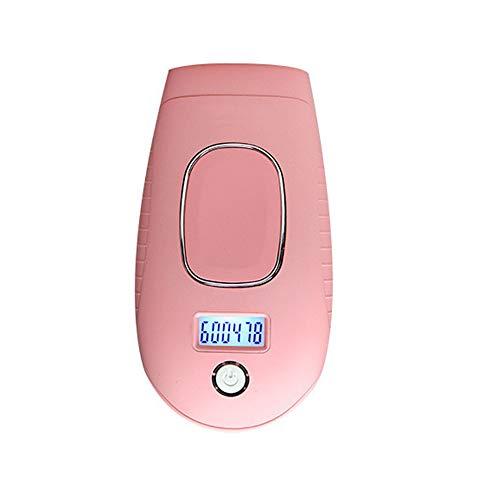 SSeir IPL-Haarentfernung Haushalt Männer und Frauen Karosserie Gesicht Bikini Verwenden Sie Portable Dauerhafte Haarentfernung mit,Pink