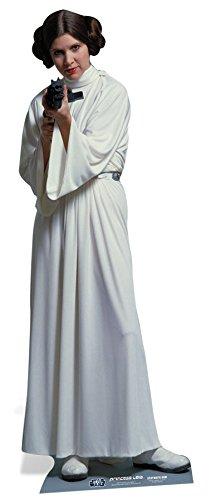 Star Wars Pappaufsteller Prinzessin Leia Organa (Carrie Fisher)