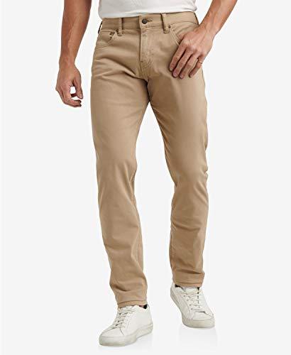 ラッキーブランド ボトムス サイズ:36x30 デニムパンツ Men's 110 Slim Sateen Strech Jeans Sand メンズ [並行輸入品]