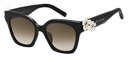 Marc Jacobs Damen Marc ICON 096/S 9O Sonnenbrille, Black/Bw Brown, 50