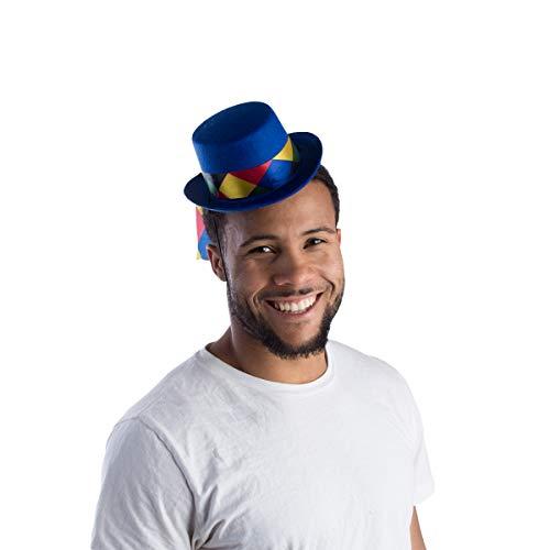 Dress Up America Mini bonte band hoed voor volwassenen