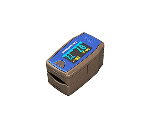 Oxímetro de pulso de dedo ChoiceMMed, MD300C5, oxímetro para medir la frecuencia cardíaca y la saturación de oxígeno (SpO2), dispositivo de monitoreo fisiológico simple, confiable y duradero