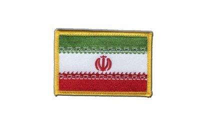 Aufnäher Patch Flagge Iran - 8 x 6 cm