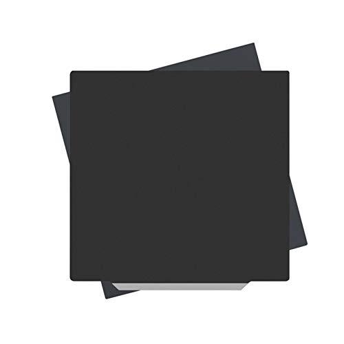 Walory für 3D-Drucker, 235 * 235mm Ausbau Federstahl Pei Flexibles Beheiztes Bett; Magnetische Aufkleberbasis mit Kleberücken Kompatibel mit Creality Ender 3 / Ender 3 Pro/Ender 5 / Ender 5 Pro