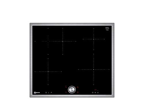 Neff T46BT60N0 Induktionskochfeld N70 / 60cm / TwistPad  / Bräterzone / Glaskeramik / Edelstahlrahmen