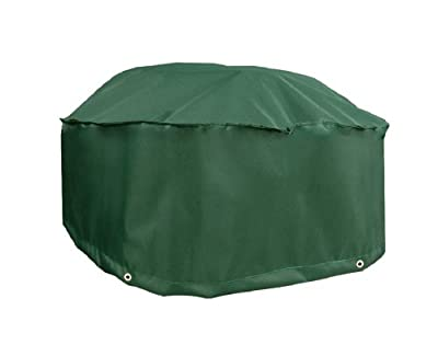 """Bosmere Weatherproof Fire Pit Cover 36"""" Diameter x 26"""" High, Green"""
