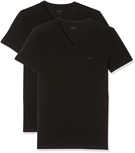 Joop! Herren 17 B-2-Pack-V 10001475 Unterhemd, Schwarz (Black 001), X-Large