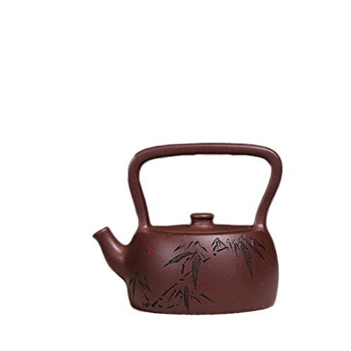 YYFUS Handmade Yixing Teapot Tea cup Purple Clay Teapot Ti Liang Shek Kwu Tea Maker Pot (Color : Purple)