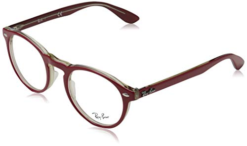 Ray-Ban RX5283 Gafas de lectura, Rot, 51 Unisex Adulto