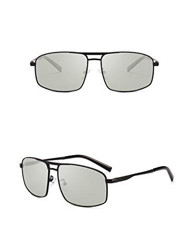 Rongjuyi Fashion Zonnebril, kleur gepolariseerd fashin design voor heren, neus pad, ademend, reis-bril, UV400