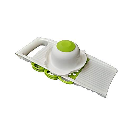 LHTCZZB Varias hojas pelador de cocina Accesorios de silicona ABS + + herramienta for pelar en acero inoxidable máquina Gadgets de cocina adecuados for frutas y hortalizas Electrodomésticos Cocina (ve