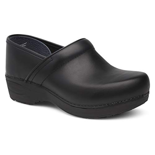Dansko Women's XP 2.0 Black Pull Up Clogs 7.5-8 M US