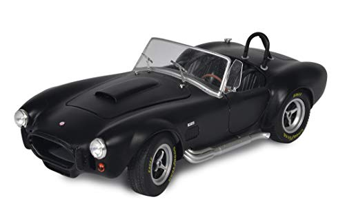 Solido - 1:18 AC Cobra MKII - Maqueta de Coche Escala, Color Negro