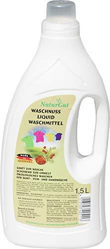 Sapdu Clean Waschnuss Liquid Flüssig Waschmittel aus Indische Waschnüssen Ökologisch 1,5L