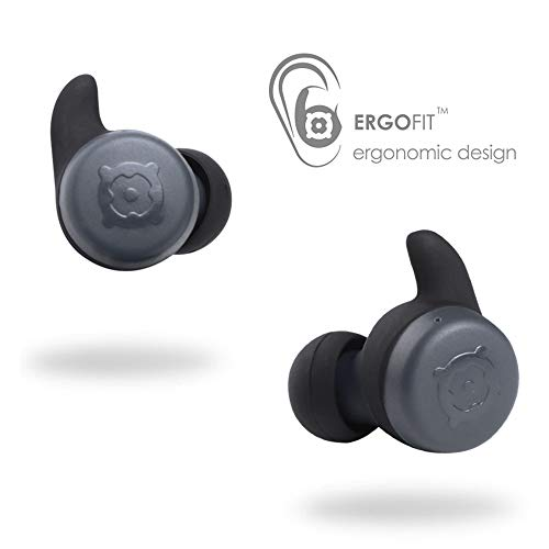 BOOMPODS Boombuds X True Wireless - Bluetooth Earbuds IPX 6 Water Resistant/Sweatproof Ergofit, Portable Magnetic Charging Case, Best Sports Earphones