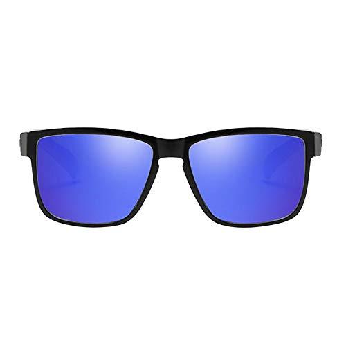 Nobranded Gafas de sol polarizadas deportivas lentes negras coloridas para hombres, ciclismo, conducción, pesca, gafas de sol, motocicleta, gafas ligeras - Púrpura