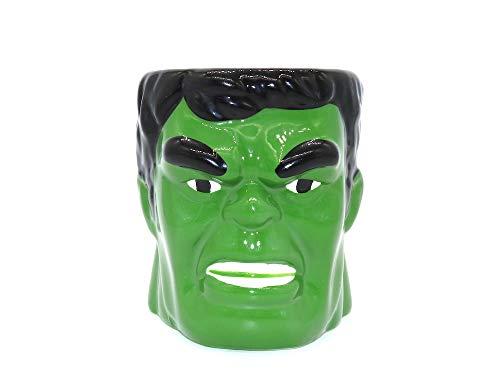 Taza Hulk 3D, 384.45 ml
