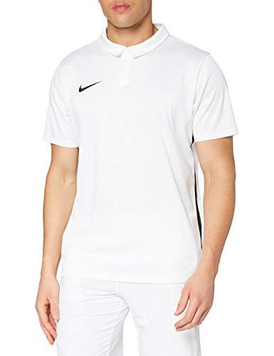 Nike Dry Acdmy18 Magliette Da Uomo, Bianco/Nero, M
