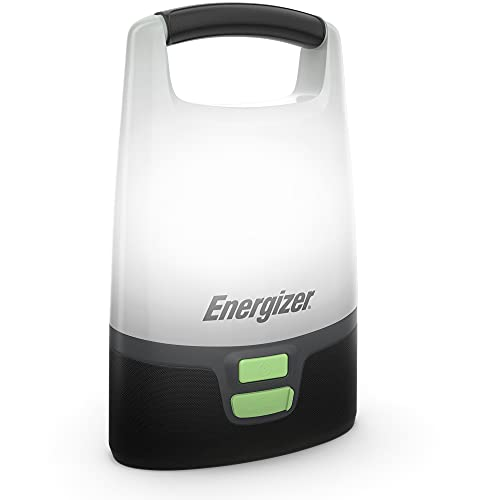 Energizer LED Camping Lantern, IPX4 Water Resistant, 1000 Lumens, Bright and Rugged Lanterns for Camping, Outdoors, Emergency, Power Bank Function
