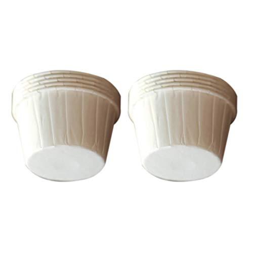 DOITOOL - Juego de 100 moldes de papel para magdalenas a prueba...