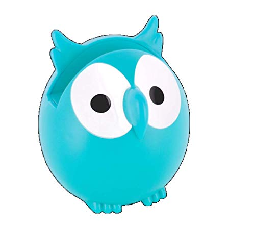 Pylones Eye Glasses Holder Owl, Turquoise by Pylones