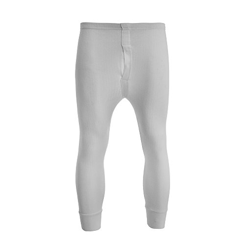 Heren Thermische Lange Johannes Geborsteld Geribbeld Brody&Co® Leggings Warme Laag Winter Skiën Golf