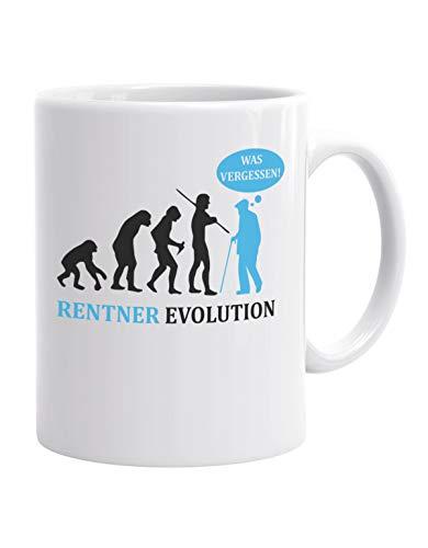 Jayess - Ruhestand Kaffeebecher - Rentner Evolution