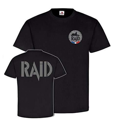 Copytec RAID Police Nationale France Unité Recherche Assistance #25664 - Noir - Medium