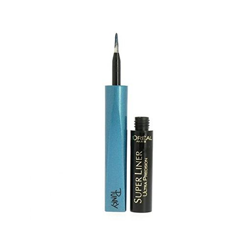 2 x L'Oreal Paris Super Liner Ultra Lasting Precision Punky Eyeliner - Turquoise