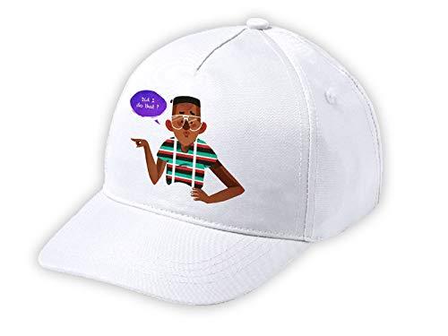 MERCHANDMANIA Mütze weiß Kind HE Sido YO ? Weiße Kid-Kappe.