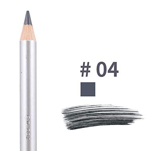 NMT Crayon à Sourcils à Double tête imprimé léopard avec Pinceau à Sourcils Teinte Cosmétique Outil de Maquillage Longue durée, 04
