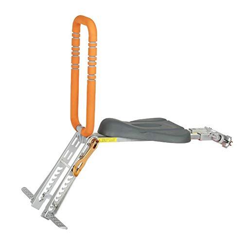 FLOX Kinderfahrradsitz, Faltbarer Sattel vorne für Kleinkinder, weicher und sicherer Sattel mit verstellbarem Handlauf und Gabelarm Mountain- / Hybrid- / Fitnessräder