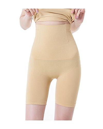 KISSLACE Damen Miederslip mit Bauch-Weg-Effekt Miederhose Butt Lifter Shaper figurenformend Shapewear Hautfarbe XL/2XL